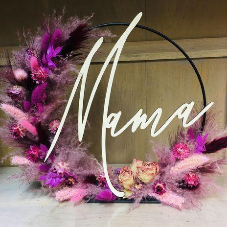 Flowerhoop Pink&Purple